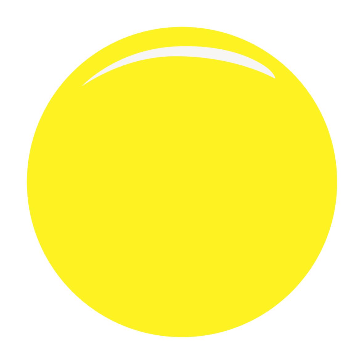 Картинка желтого круга